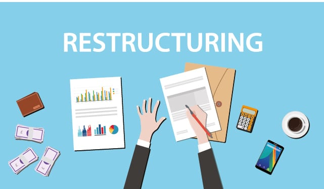 Major restructuring in restaurant and retail sectors