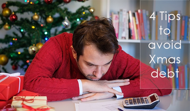 Four tips to avoid Christmas debt